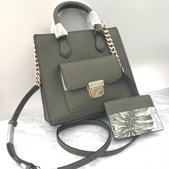 b172e1992e0c9c Michael Kors Bags   Bridgette Messenger Card Wallet Set   Poshmark